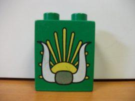 Lego Duplo képeskocka - szarv