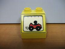 Lego Duplo képeskocka - autó (karcos)