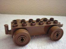 Lego Duplo utánfutó alap kapcsos barna-barna