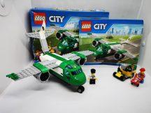 LEGO City - Teherszállító repülőgép 60101 (dobozzal+ 2-es katalógussal)