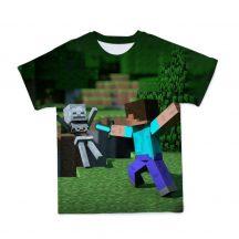 Gyerek 3D póló Minecraft 140 méret