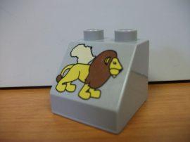 Lego Duplo képeskocka - oroszlán
