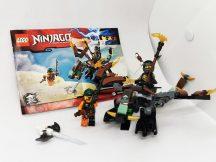 LEGO Ninjago - Cole sárkánya 70599 (katalógussal)
