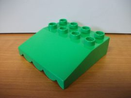 Lego Duplo Tető v. zöld (kicsi)