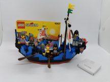 Lego System - Castle - Black Knights - Sea Serpent, Csatahajó 6057 Ritkaság (katalógussal)