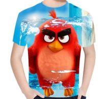 Gyerek 3D póló Angry Birds 130 méret
