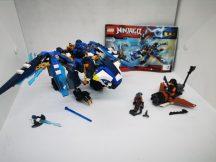LEGO Ninjago - Jay elemi sárkánya 70602 (2-es katalógussal)