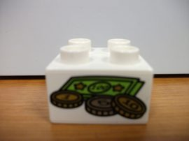 Lego Duplo képeskocka - pénz