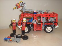 Lego Technic - Fire Engine, Tűzoltóautó 8280