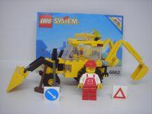 Lego System - Backhoe, Markológép 6662