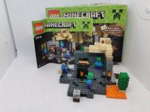 LEGO Minecraft - A tömlöc (21119) (doboz+katalógus)