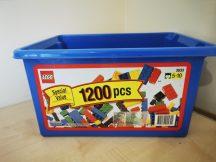 Lego Tároló Doboz (tető nélkül, alján elfehéredés)