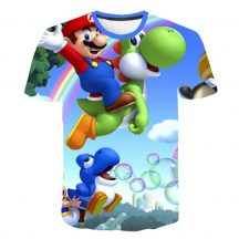 Gyerek 3D póló Super Mario 110 méret