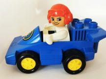 Lego Duplo Versenyautó figurával