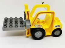 Lego Duplo Targonca (matricás)
