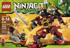 Lego Ninjago - Samurai gép  9448