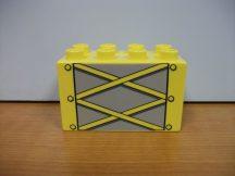 Lego Duplo képeskocka - daru elem (karcos)
