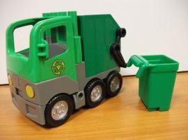 Lego Duplo - Kukásautó, Szemétszállító autó