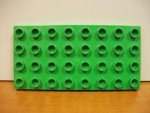 Lego Duplo alaplap 4*8 -as v. zöld