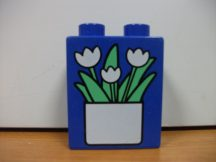 Lego Duplo képeskocka - tulipán (karcos)