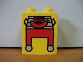 Lego Duplo képeskocka - grill