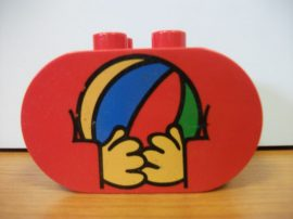Lego Duplo képeskocka - labda