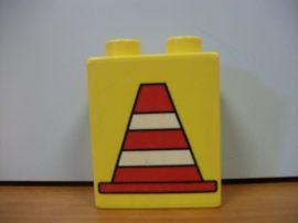 Lego Duplo képeskocka - terelőbólya
