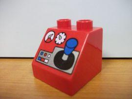 Lego Duplo képeskocka - piros