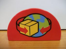 Lego Duplo képeskocka - földgömb