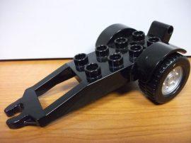 Lego Duplo Utánfutó fekete