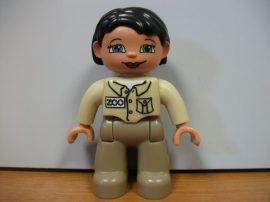 Lego Duplo ember - zoo lány