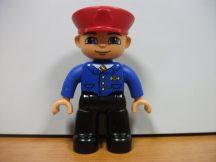 Lego Duplo ember - fiú ( ! ) sofőr, mozdonyvezető