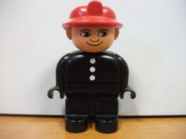 Lego Duplo ember - tűzoltó  !!!