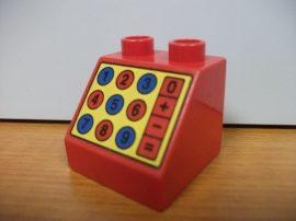 Lego Duplo képeskocka - Számológép