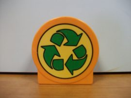 Lego Duplo képeskocka - újrahasznosítás