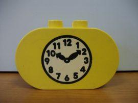 Lego Duplo képeskocka - óra (karcos)