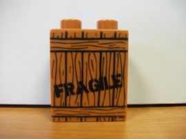 Lego Duplo képeskocka - fragile láda (!)