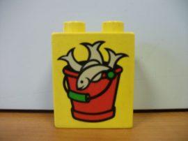 Lego Duplo képeskocka - hal