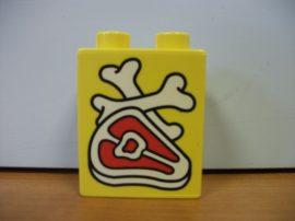 Lego Duplo képeskocka - hús