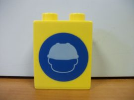 Lego Duplo képeskocka - Munkás