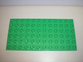 Lego Duplo alaplap 6*12 (v. zöld)