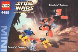 Lego Star Wars - Sebulba's Podracer & Anakin's Podracer 4485