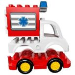 DUPLO tűzoltóautó, mentőautó, rendőrautó