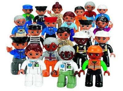Használt Lego Duplo figura, ember